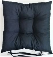 Sedák prošívaný  40x40 cm (černá)
