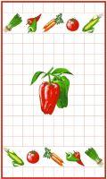 Utěrka  40x70cm  papriky
