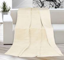 Deka KIRA PLUS 200 x 230 cm béžová/světlejší béžová