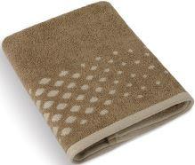 Froté ručník Béžová řada 50x100 cm (hnědá mozaika)