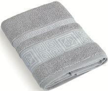 Froté ručník 50x100 cm Řecká kolekce - sv.šedá