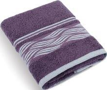 Froté ručník Vlnky 480g 50x100 cm (burgundy)