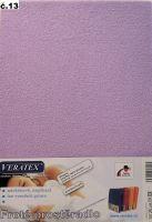 Froté prostěradlo na masážní lůžko 60x190 lehátko (č.13-fialková)