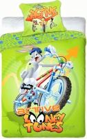 Povlečení Looney Tunes active 140x200 (zelené)