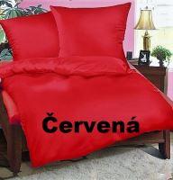 Bavlněný povlak na polštář 70x90cm (cihlové/červené)