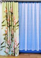 Metráž Orlando šíře 160cm zelinkavý květ (510)