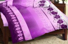Přehoz na postel KREP 140x200 cm (vyberte dezén z nabídky Krepové povlečení)