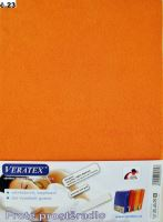 Froté prostěradlo do kočárku 35x75cm (č.23 oranžová)