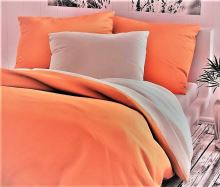 Bavlněný povlak na polštář 70x90cm oranžový