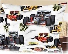 Krepový povlak na polštářek  Formule 35x45cm (R0622)