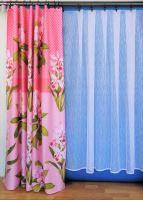 Metráž Orlando šíře 160cm růžový květ (511)
