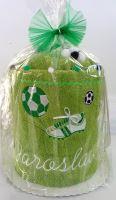 Veratex Textilní dort s výšivkou + jména - pro fotbalistu
