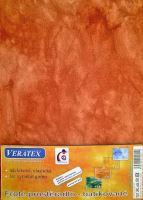Froté prostěradlo  batika  90x200/25cm sv.rezavá batika