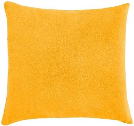 Polštářek Mazlík froté 40x40 cm (č.7-sytě žlutá)