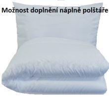 Set polštáře a přikrývky - Bavlna 900g+1100g Klasik (135x200 - 70x90cm)