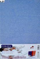 Froté prostěradlo dvoulůžko 180x200/16cm (č.21-sv.modrá)