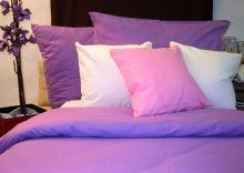 Bavlněné povlečení fialkové 70x90 140x200cm