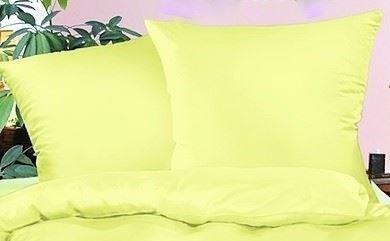 Povlak na polštář krep 70x90cm-zip (sv.žlutá)