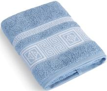 Froté ručník 50x100 cm Řecká kolekce - sv.modrá