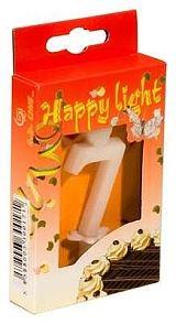 Svíčka dortová -7- krabička 70mm (7912)