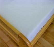 Prostěradlo flanelové 1L UNI 140x240 bílé